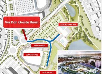 Rimini. Intitolata a don Oreste Benzi l'arteria che sta sorgendo  tra via della Fiera e il Parco.