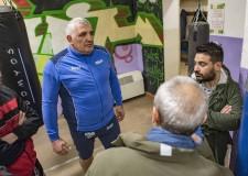 Lugo. Il sindaco Ranalli in visita alla palestra di San Potito, laddove nascono i campioni della noble art.