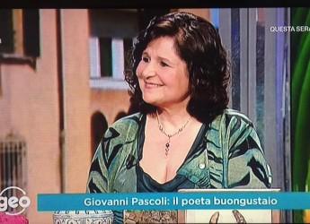 San Mauro Pascoli. Giovanni Pascoli e il Parco poesia Pascoli protagonisti  su Rai3 a 'Geo' e 'Paesi che vai'.