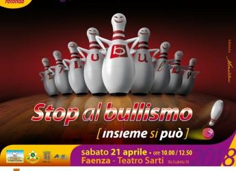 Faenza. Stop al bullismo. Incontro al 'Sarti' ( sabato 21 aprile, dalle 9,30) con gli studenti della Città.