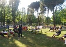Lugo. San Rocco Faenza vince il torneo di Tiro incrociato alla fune. I 50 anni della Pro Loco Lugo.