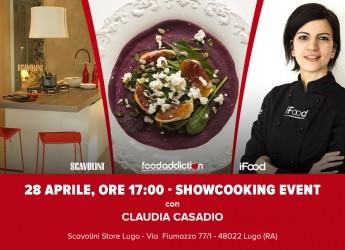 Lugo. I segreti per una cucina buona e salutare: ricette e degustazioni con la blogger Claudia Casadio.