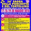 Forlì. La 36° Sagra della porchetta e del tortellino in sostegno dello Ior. Dal 17 al 20 maggio, a Lavezzola.
