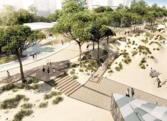Rimini. 'Parco del mare', ecco le linee guida proposte dallo studio 'Miralles Tagliabue' di Barcellona.