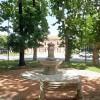 Massa Lombarda. Si inaugura la Fontana dei giardini.In piazza  Costa a breve una Little free library,
