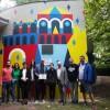Forlì. Un murales sull'art.9 della Costituzione: la Repubblica promuove lo sviluppo della cultura.