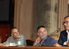 Forlì. Incontro con Marco Pastonesi. Insieme all'autore anche il  ct della nazionale Davide Cassani.