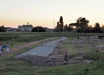 Ravenna. L' Antico porto al chiaro di luna. In un'estate verso Classis, il nuovo museo della Città.