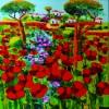 Bellaria Igea Marina. 'In mostra col Maestro': la caducità e la bellezza dei fiori in viale Guidi.