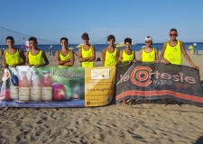 Ravenna. Coppa del Centenario di beach volley. Tre vittorie su quattro a squadre del Ravennate.