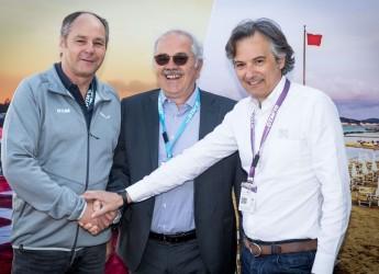 Misano Adriatico. E' arrivato il gran giorno del DTM. Con G. Nannini, Alex Zanardi e Mick Schumacher.