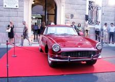 Lugo. La 'Ferrari' 250 Gt coupè resterà al museo 'Baracca' per l'intero mese di agosto.