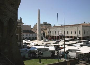 Lugo. Temporali anche intensi. Emergenza conclusa. A Ferragosto resta chiuso il mercato settimanale.