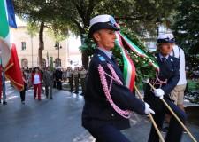 Rimini. La Città non dimentica i suoi tre Martiri. Corone d'alloro nella piazza dedicata alla loro memoria.