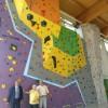 Cesena. Terminati i lavori per la 'nuovissima' parete da arrampicata alla palestra di San Giorgio.
