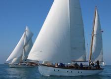 Viareggio. Con il raduno  'Vele storiche'  chiude  la stagione regate di vele d'epoca in Mediterraneo.