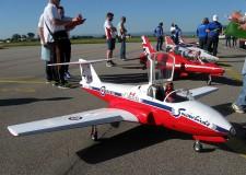 Lugo. All'aeroclub di Villa San Martino due giorni di spettacolo con l'aeromodellismo. Prove di volo.