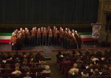 Ravenna. L'emozionante prestazione del coro degli Alpini. Per i 100 anni dalla fine della Grande guerra.