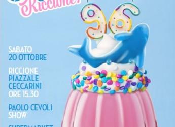 Riccione. Il compleanno ' Fico' di Riccione. Sabato 20, doppia festa per i 96 anni della città adriatica.