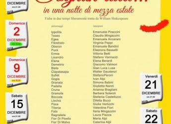 Faenza. 'Sogno di una notte di mezz'estate', fiaba tra le più belle e divertenti di tutti i tempi.