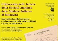 Rimini. Libro: 'L'Ottocento nelle lettere della Società anonima delle miniere zolfuree di Romagna'