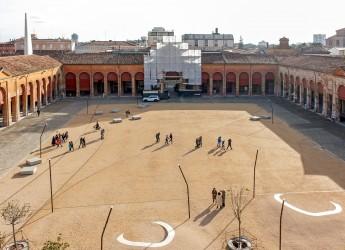 Lugo. Mostra all'oratorio di ' Sant'Onofrio'. Tema:  ' Il Pavaglione ai tempi del restauro'.