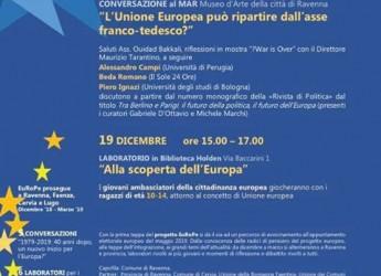 Ravenna. Progetto EuRoPe, ciclo di cinque conversazioni. E dal 19, la proposta 'Europa – Junior'.