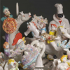 Castel Bolognese. Alla 'S.Maria della Misericordia', da sabato 23,  le 'ceramiche sonore'  di  Franco Budini.