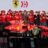 Non solo sport. La ' rossa' che fa sognare 'svelata' a Maranello. Cr7 e Joya: prove vere da Champions.
