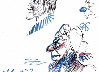 Rimini. 'Quand Fellini révait de Picasso': i disegni dell'archivio ' F. Fellini' protagonisti a Parigi