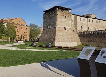 Rimini. Aperta la rampa pedonale dalla Circonvallazione occidentale all'arena del giardino del castello.