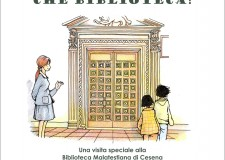 Cesena. 'Che biblioteca!': Di Rosaria Martellotta  la prima guida d'una Malatestiana per i bambini.