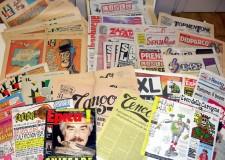 Forlì. Alla fumettoteca 'Calle' la mostra 'PoliticComics! Fumetto da Politica, Politica da fumetto'.