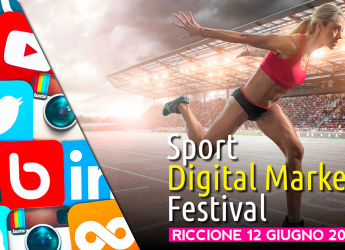 Riccione. Corso di formazione di Marketing digitale per lo sport. Con tante star nazionali presenti.