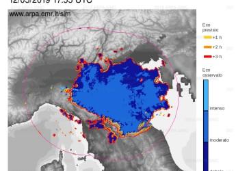 Romagna. Continua il maltempo. Che colpisce diversi comuni della fascia costiera romagnola.