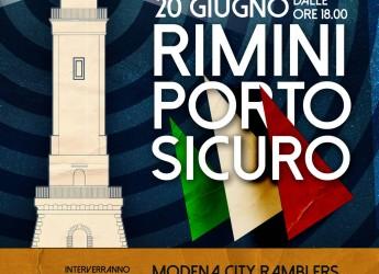 Rimini. L'essenza di 'Porto sicuro'. Musica e parole nella 'Giornata internazionale del rifugiato'.