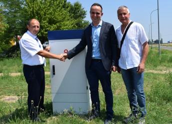 Ravenna. Inaugurata la banda larga nell'area artigianale di San Pietro in Vincoli, in via dell'Uva.