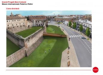 Rimini. Castel Sismondo: con la Corte a mare completata la riqualificazione a Castel Sismondo.