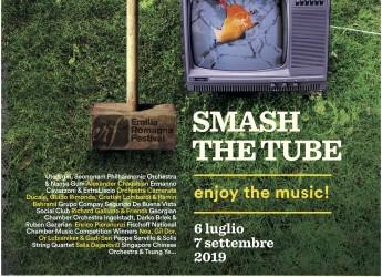 Forlì. XIX Emilia Romagna Festival-Erf. Da 6 luglio/7 settembre: 'Smash the tube – enjoy the music!'.