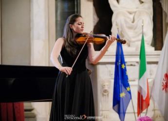 Faenza. Virtuosismi al violino di Anna Stella Gibboni. Giovedì 11, al Mic per la rassegna 'In tempo'.