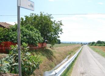 Cotignola. Strade più sicure con i nuovi guardrail. Installati a Barbiano, costo oltre 80mila euro.