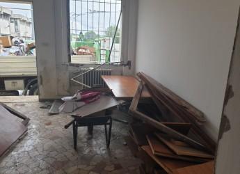 Rimini. Riqualificazione dell'area Stazione. Sono partiti i lavori di demolizione dell'ex palazzina IAT.