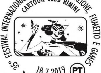 Rimini. Dal 18/21 luglio speciali annulli per il 36° Festival del Cinema di animazione, fumetto e games.