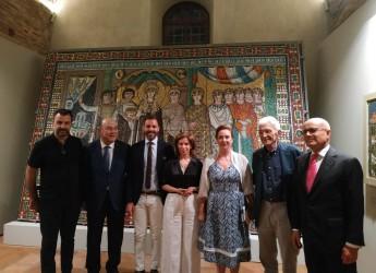 Ravenna. Copie di mosaici antichi a Salonicco. Una mostra alla Rotonda di Galerio fino al 30 ottobre.