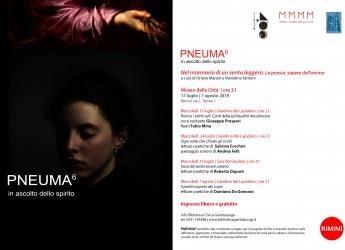Rimini. VI edizione di 'Pneuma. In ascolto dello spirito'. Apertura della rassegna, mercoledì 17 luglio.