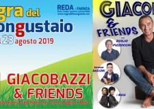Faenza. Sagra del Buongustaio. Il 'clou' della festa con  lo spettacolo comico di Giacobazzi & Friends.