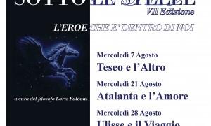 Cattolica. Miti sotto le stelle. VII edizione di ' L'eroe che è dentro di noi'. Incontro il 'Canto del mito'.