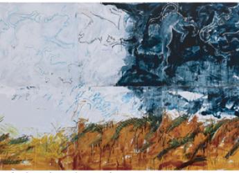 Rimini. Al Meeting 2019 'La Chimera' di Mario Schifano. In mostra: 'Now Now. Quando nasce un'opera d'arte'.