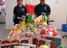Rimini. Sequestro di giocattoli non conformi CE. Eseguiti  alcuni controlli della Pm nella zona Rimini Nord.