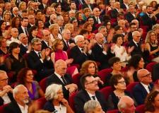 Rimini. Mattarella: ' E' una grande emozione,  essere stasera in questo meraviglioso teatro'.